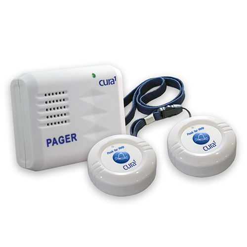 Cura1 4024 Wireless Call Buttons with Caregiver Pager